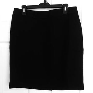 Women's Black Skirt - Size 12P